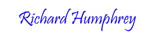 Richard Humphrey Signature